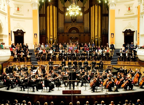 Cape Town Philharmonic Orchestra in the City Hall