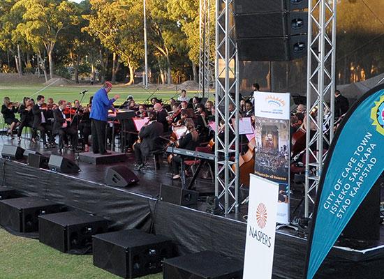 CPO at Kirstenbosch Summer Sunset Concerts